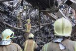 امیدواریم برخی از آتشنشانان گرفتار زیر آوار به آغوش خانوادهها بازگردند