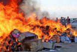 لزوم رفع اشکال قانونی آتش زدن  کالای قاچاق